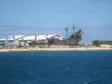 Pirates of the Caribean ship