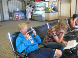 At the Honolulu airport