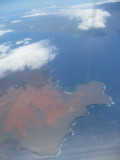 First view of the Island of Hawaii