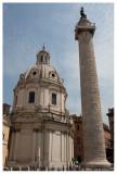 Colonna Traiana e Chiesa del Santissimo Nome di Maria