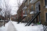 Montreal on snow