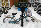 Bike waiting for spring
