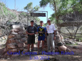 Grand Canyon South Kaibab - Bright Angel 3/30/2012