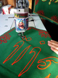 Sweing The Religious Banner