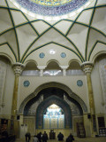 Inside the Imam Jaafar Sadegh Mosque