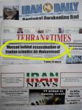 Mossad behind assasinations of ......