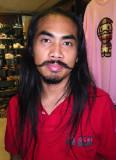Young Thai man