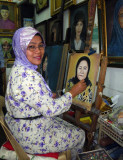 Suria, the Portrait Artist