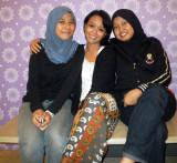 Ayesha, Fatin, Fozina