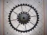 Metal Circles Chandelier