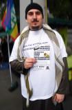Supporter of Babar Ahmad