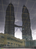 Reflection of The Petronas Towers