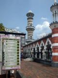 Masjid Jamek Bandaraya's Noticeboard