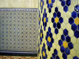 Tiled Wall & Tilled Column