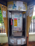 Ugly Dirty Public Phone