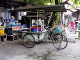 Front Loading Tricycle Mobile Kitchen