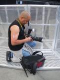 Setting His Nikon