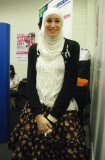 Happy Muslim Arab Girl