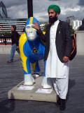 Mr Iqbal & Dyed silverback