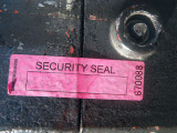 Pink Security Seal