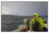 Rainshowers at sea...........