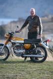 Scott Miller With 1969 Honda 350