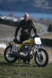 Former Racer Scott Miller With HIs Yamaha XS 650 Street Tracker
