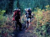 Don and Lars near Glacier Peak.