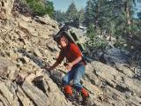 PA Jeff on Slide near Wrightwood.