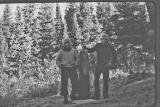 End of 2,500 mile hike, Canadian Border,  Oct.11th , 1977