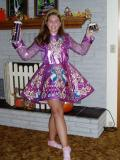 Irish Dancer Trophy Girl