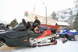 Mike Ardenvoir Local  With  Hot Artic Cat 900  Custom Sled.