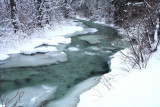 Mad River Iceing Up From The Bottom