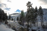 Upper Entiat River In Mid January