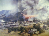 Tank Car Ruptures In Apple Yard Wenatchee ( Aug. 6th, 1974 )