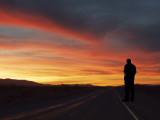 Sunset On The Mojave Desert