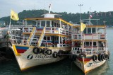 Charter boats at Pattaya
