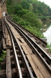 Death Railway tracks, Thailand