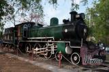 Historic locomotive, Lopburi
