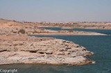 Lake Nasser at Abu Simbel