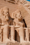 Colossal effigies of Ramses II, Abu Simbel