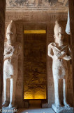 Inside the Sun Temple, Abu Simbel