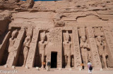 The Hathor Temple of Queen Nefertari, Abu Simbel