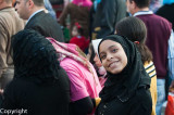 People at the Eid el Adha celebrations, Cairo