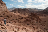 Back down into another wadi