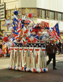 Mummers Parade on New Year's Day, Philadelphia, USA