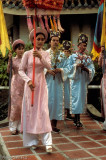 Traditional Annamese wedding reenacted