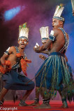 Siddi dance performance