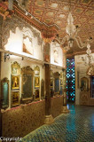 Inside the Aina Mahal palace, Bhuj