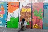 Schoolchildren's murals